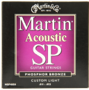 Martin SP Phosphor Bronze Custom Light MSP4050 Acoustic Guitar Strings 011- 052